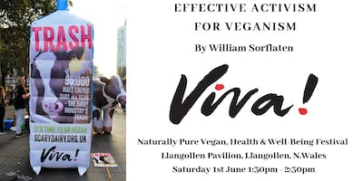 Effective Activism for Veganism By William Sorflaten from Viva