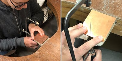 The Craftsmanship Festival- Saw piercing with Libby Ward