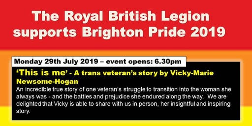 ' This Is Me' - A Brighton Pre-Pride Event.