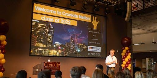 Cronkite School Fall Welcome 2019
