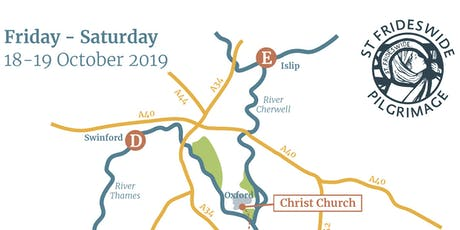 St Frideswide Pilgrimage 2019 tickets