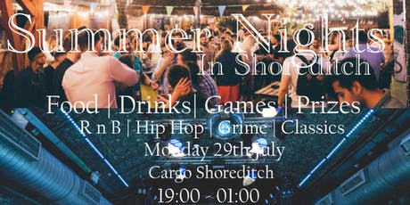 Summer Nights In Shoreditch tickets