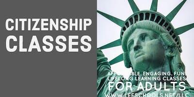 Citizenship Test Preparation @Lee County Public Education Center 9/9-9/23
