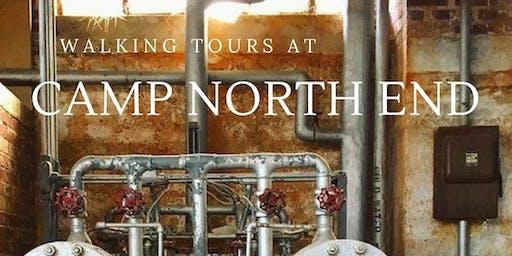 June 28: Walking Tour at Camp North End