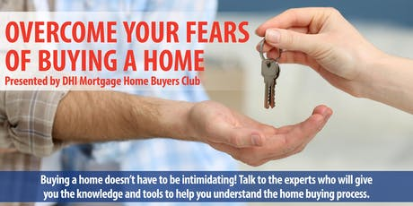 Overcome your fears of buying a home, Concord, NC! tickets