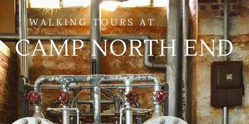 July 12: Walking Tour at Camp North End