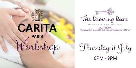 Carita Workshop tickets