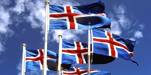 Þjóðhátíðargarðveisla hjá sendiherra 22. júní 2019