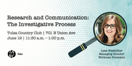 Research and Communication: The Investigative Process