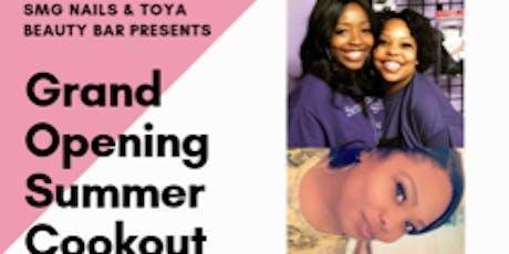 SMG NAILS & TOYA BEAUTY BAR GRAND OPENING tickets