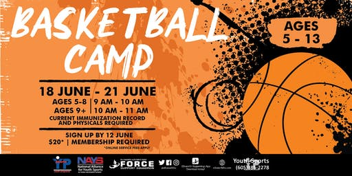 Basketball Camp - EAFB Youth Sports