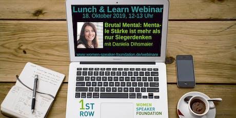 "Live-Webinar ""Brutal Mental"" mit Daniela Dihsmaier Tickets"