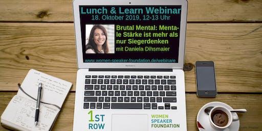 "Live-Webinar ""Brutal Mental"" mit Daniela Dihsmaier"
