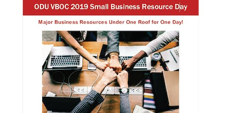 Small Business Resource Day 2019 - Free Admission Tickets tickets