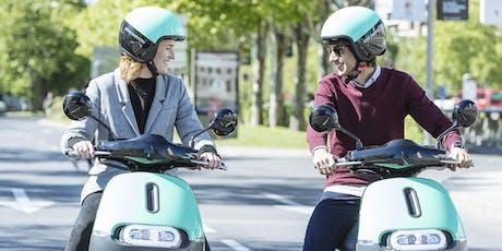 COUP Driving School. Aprende a montar en moto eléctrica entradas