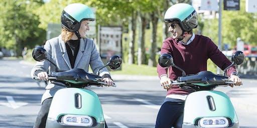 COUP Driving School. Aprende a montar en moto eléctrica