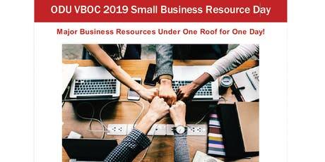 Small Business Resource Day 2019 - Paid Exhibitor Tickets tickets