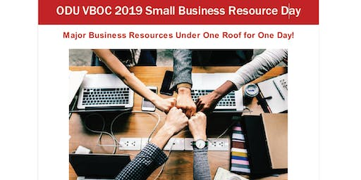 Small Business Resource Day 2019 - Paid Exhibitor Tickets