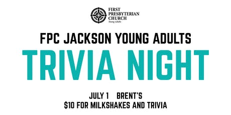FPC Young Adults Trivia Night tickets