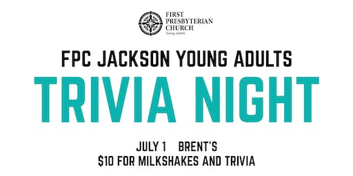FPC Young Adults Trivia Night