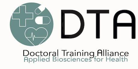 Bioscience DTA Summer School 2019: Supervisor attendance tickets