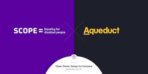 Maker Meets : Design for Everyone