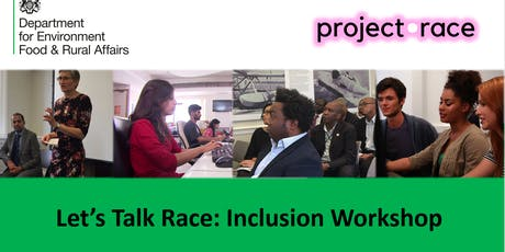 Lets talk race inclusion worksops SCS tickets