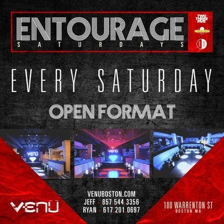 Venu Nightclub Saturdays banner