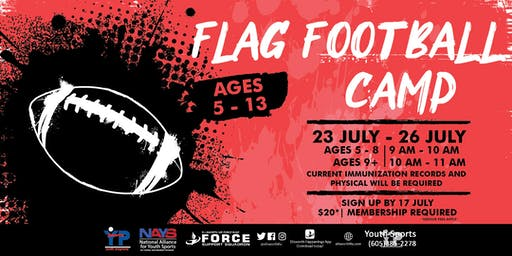 Flag Football Camp - EAFB Youth Sports