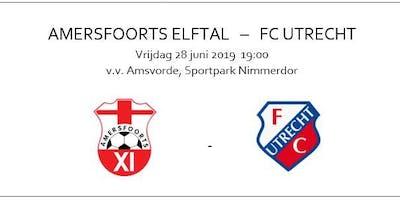 Amersfoorts Elftal - FC Utrecht   oefenwedstrijd 28 juni 2019