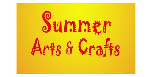 Summer Arts & Crafts Class-FREE