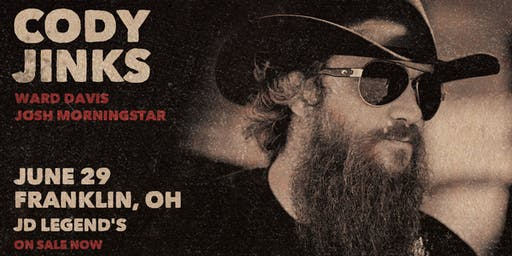 True Grit Presents Cody Jinks Saturday Show (18&older)
