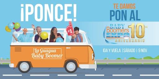 La Guagua Baby Boomer - PONCE hacia el Baby Boomers EXPO 2019 (SÁBADO)