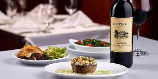 Ruth's TasteMaker Dinner Series with Duckhorn Vineyards