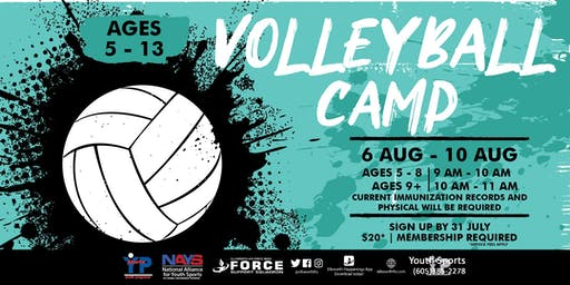 Volleyball Camp - EAFB Youth Sports
