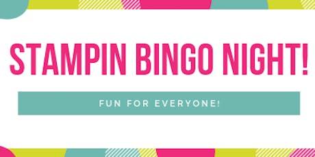 Stampin' Up! Bingo Summer 2019 tickets