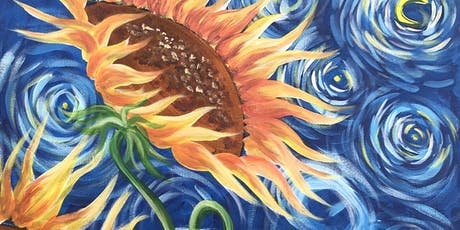 Sunflowers Brush Party - Witney tickets