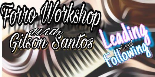 Forro Workshop with Gilson Santos