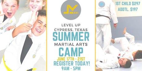 Kids Martial Arts Summer Camp -  Cypress, TX tickets