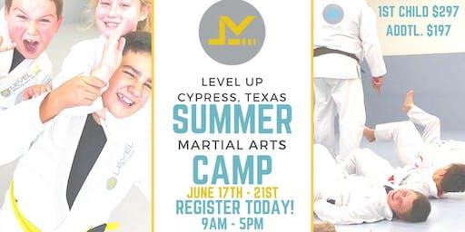 Kids Martial Arts Summer Camp -  Cypress, TX