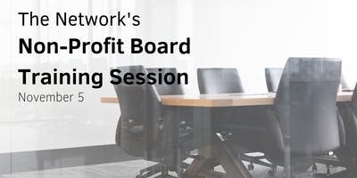Non-Profit Board Training Session