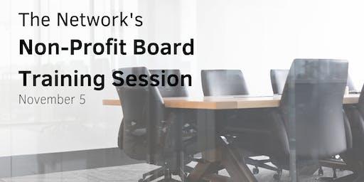 Non-Profit Board Training Session