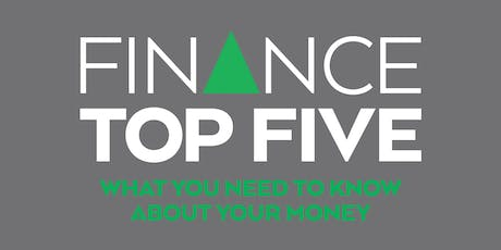Finance Top Five (Webinar) tickets