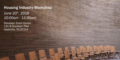 Housing Industry Workshop