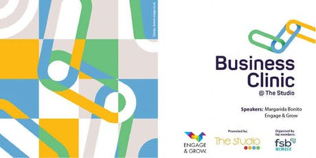Business Clinic @ the Studio - Engage Your People, Grow Your Business tickets