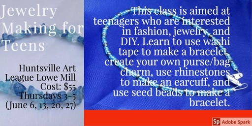 Beginning Jewelry Making for Teens