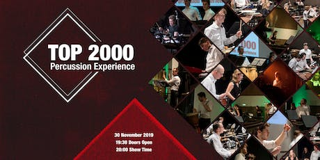 TOP 2000 Percussion Experience tickets