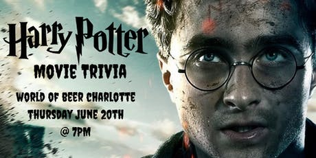 Harry Potter (Movie) Trivia at World of Beer Charlotte tickets