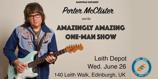 Leith Depot Presents: Porter McClister