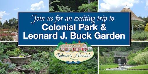 Rohsler's Garden Tour to Colonial Park & Leonard J. Buck Garden
